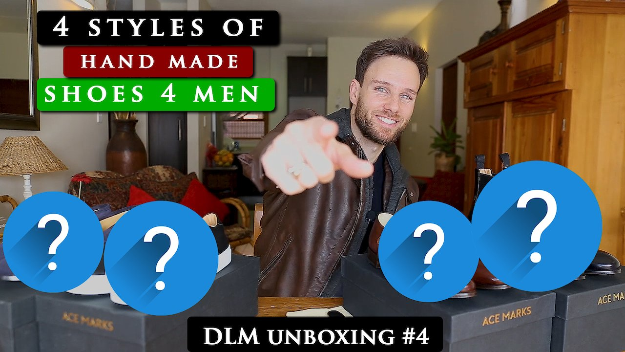 Video poster Quality HANDMADE SHOES for men from Acemarks | DLM unboxing #4