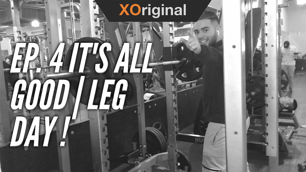 Video poster #IT'SALLGOOD EP.4 | LEG DAY | MOTION CREATES EMOTIONS