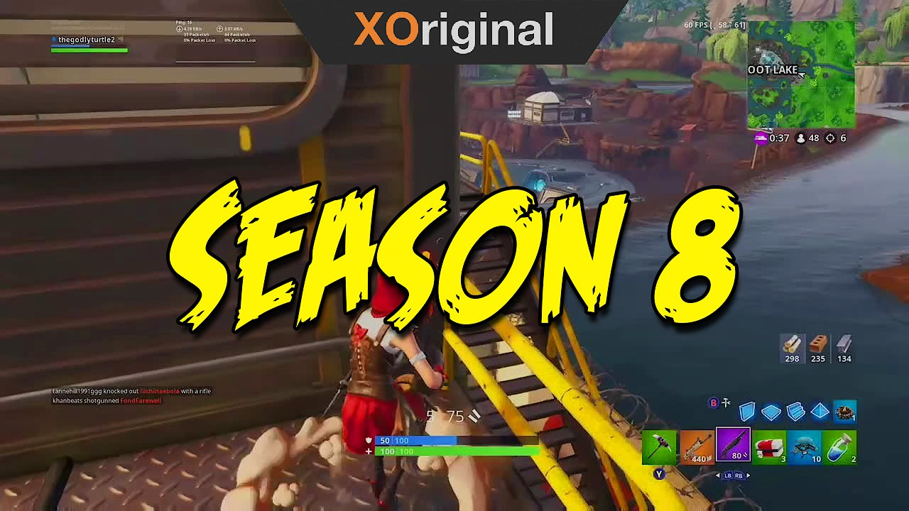 Video poster Fortnite Season 8 Clips