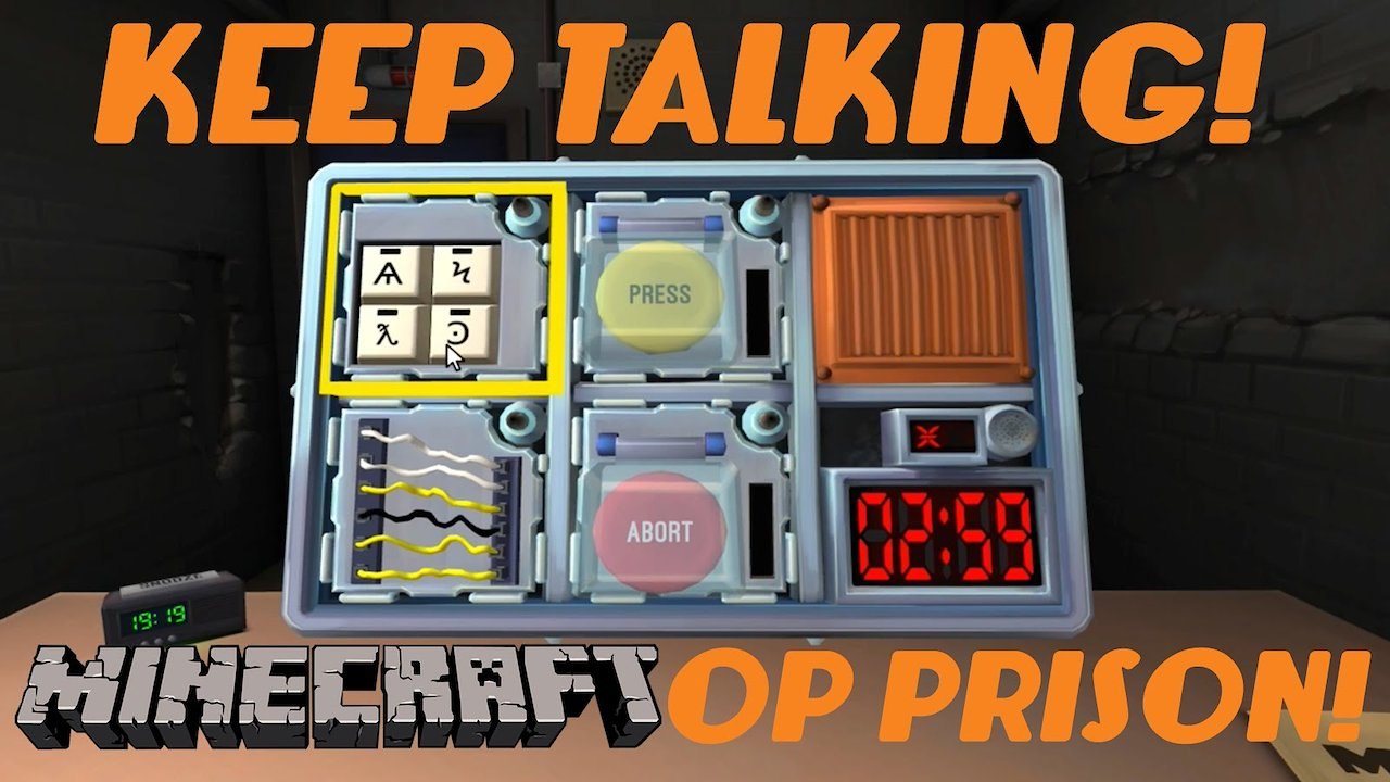 Video poster Keep Talking Minecraft Prison!