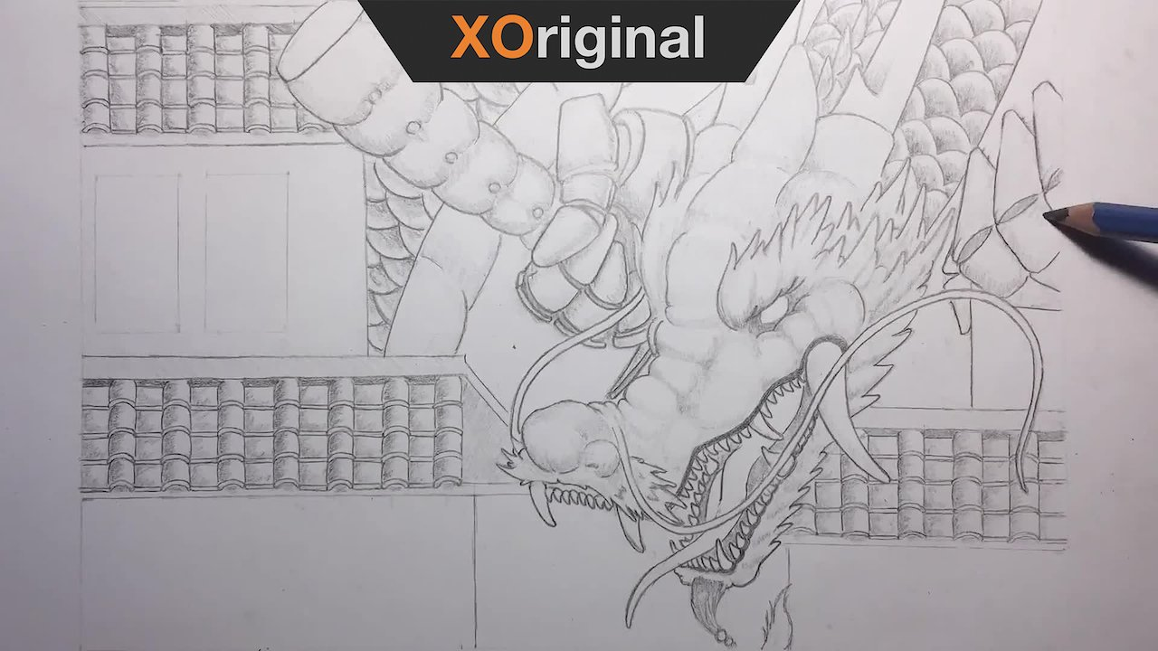 Video poster Japanese Dragon Timelapse