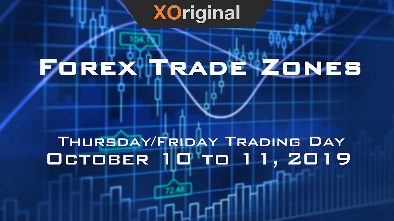 Video poster Forex Trade Zones for October 10 to October 11  2019