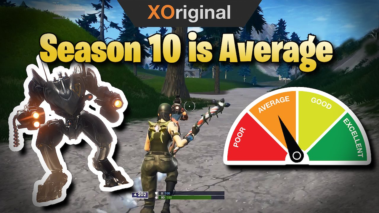 Video poster Season 10 is Average  (Fortnite: Battle Royale)