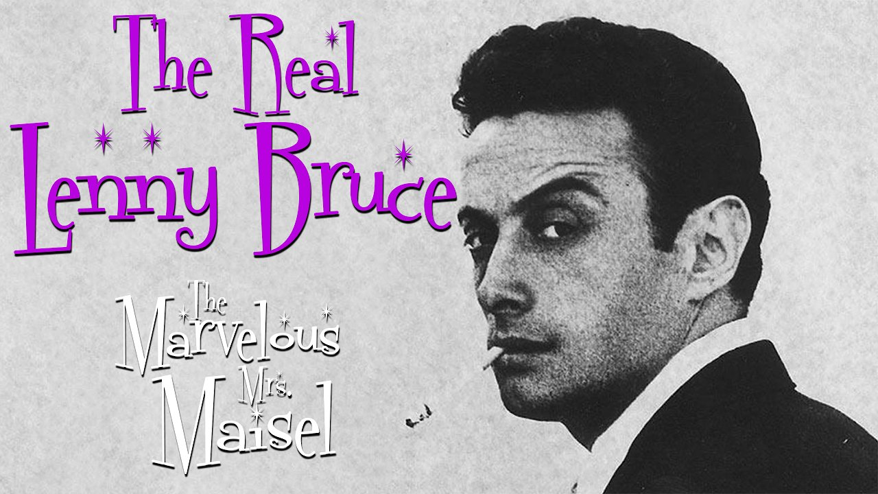 Video poster The Real Lenny Bruce (The Marvelous Mrs Maisel on Amazon Video)