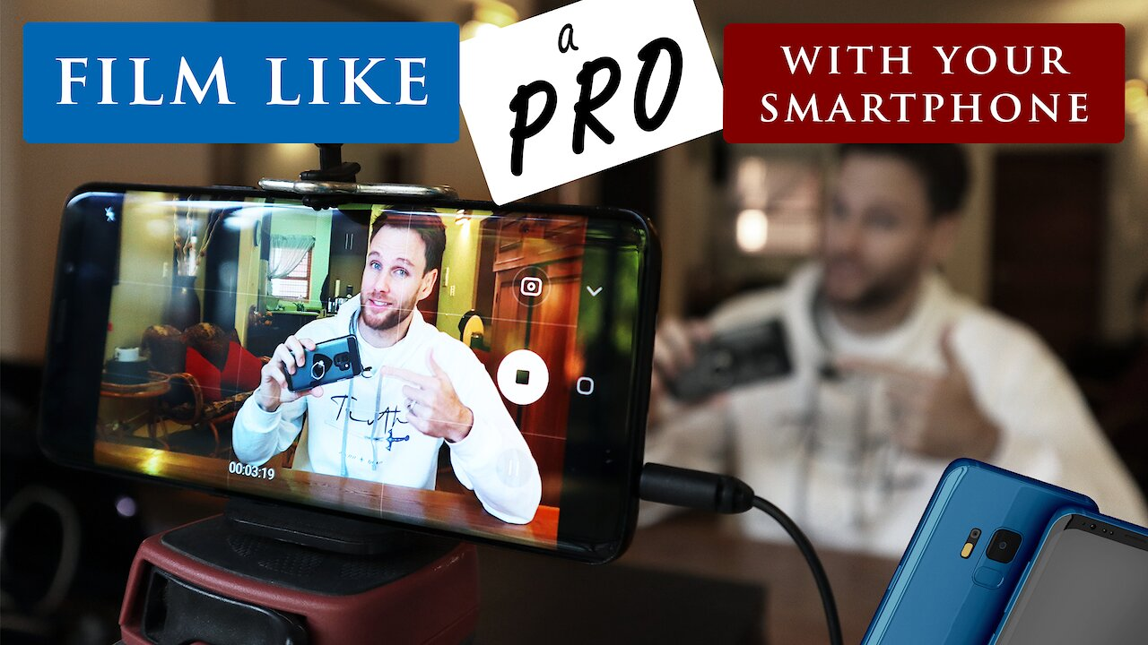Video poster How to FILM YOURSELF with your SMARTPHONE like a pro