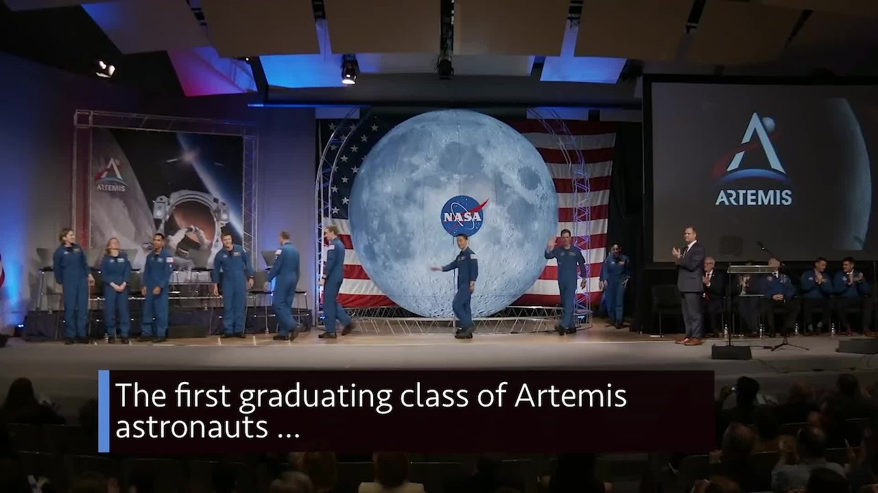 Video poster The First Graduating Class of Artemis Astronauts on This Week @NASA