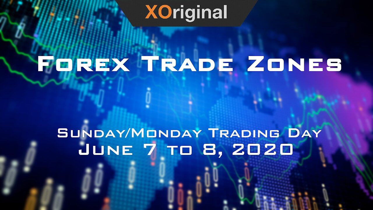 Video poster Forex Trade Zones for June 7 to 8,  2020