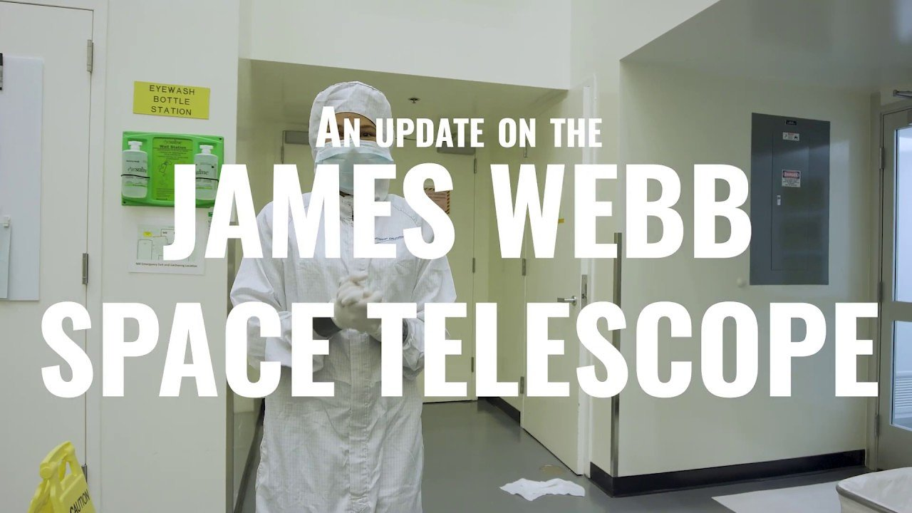 Video poster NASA Science Live - An Update on the James Webb Space Telescope from the Cleanroom