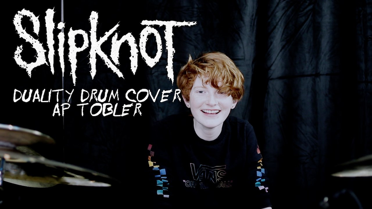 Video poster Duality - Slipknot Drum Cover