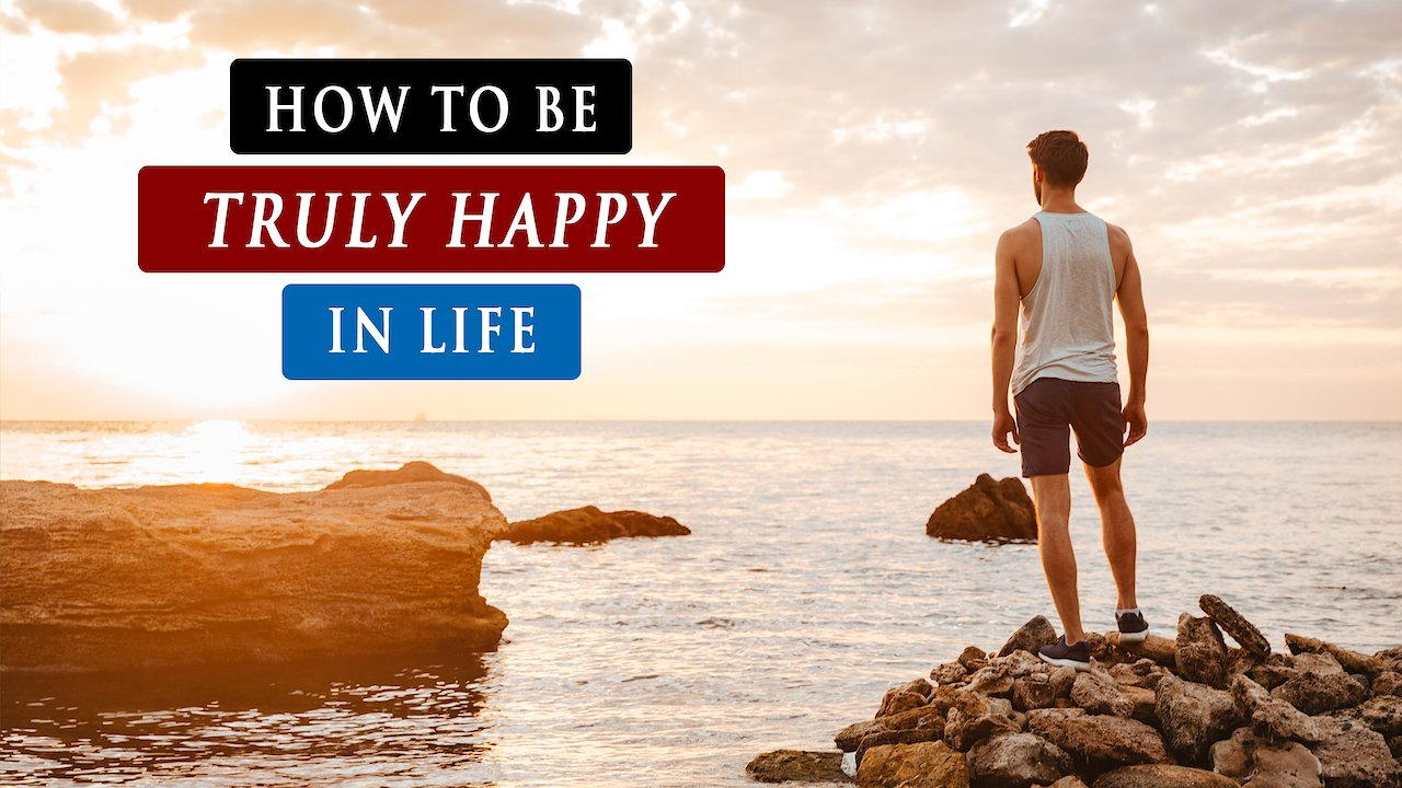 Video poster How to STAY HAPPY and POSITIVE in LIFE  as a Christian?