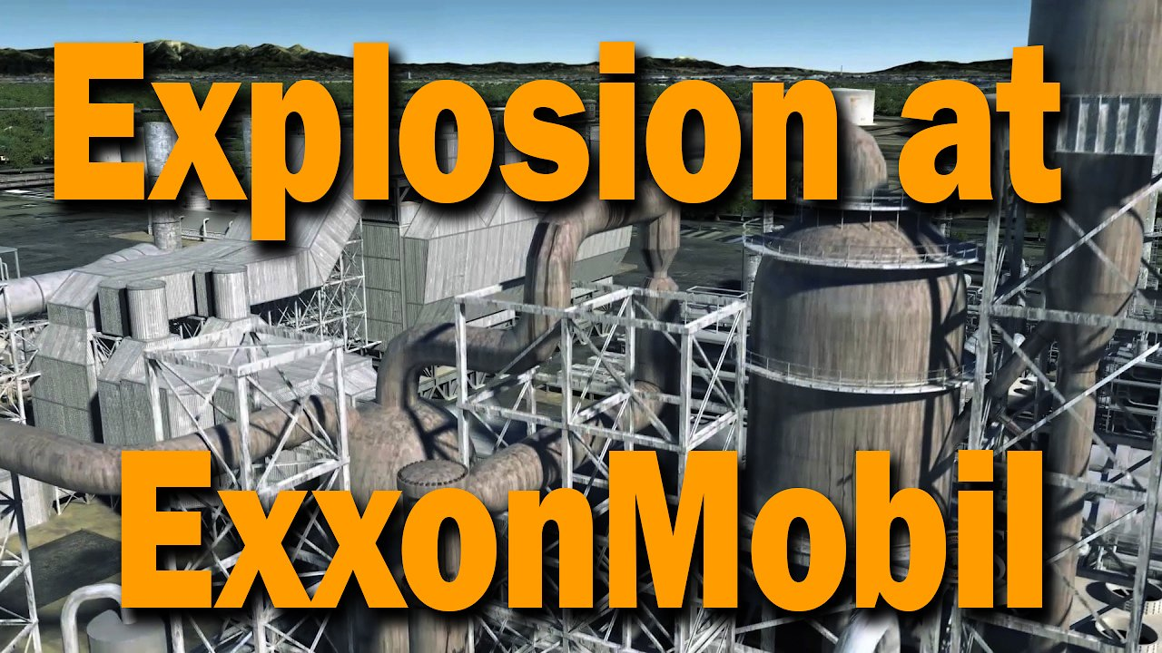 Video poster 2015 Explosion at ExxonMobil Refinery in Torrance, CA