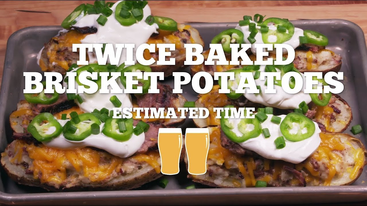 Video poster Twice Baked Brisket Potatoes Recipe - Episode 27