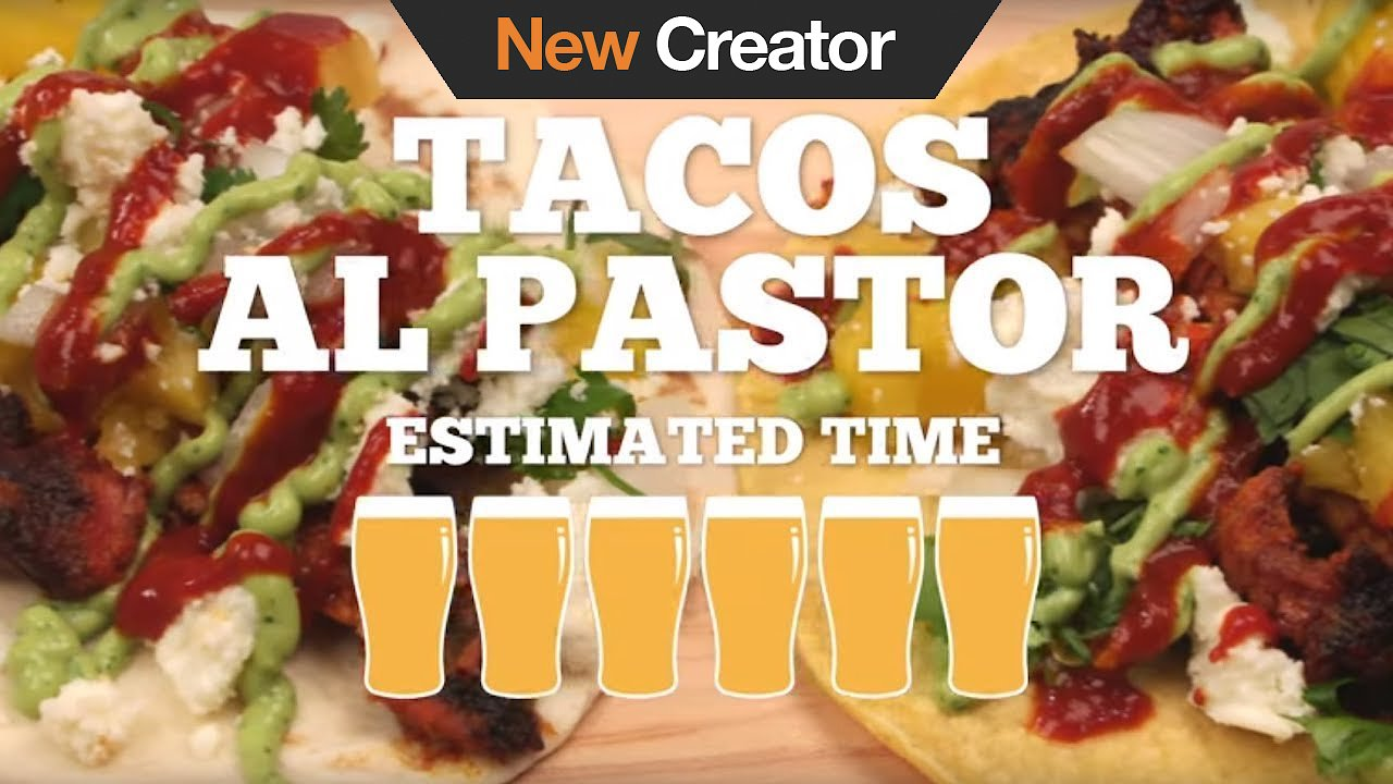 Video poster Tacos Al Pastor Recipe - Episode 1
