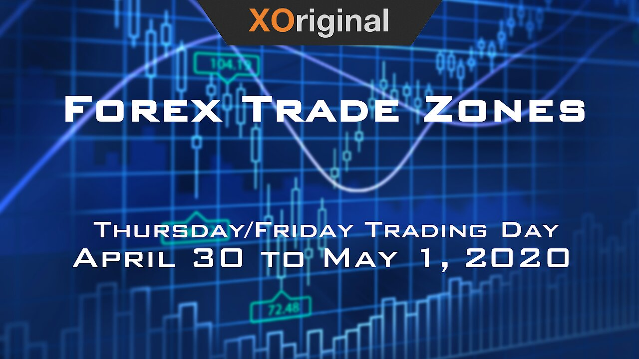 Video poster Forex Trade Zones for April 30 to May 1,  2020