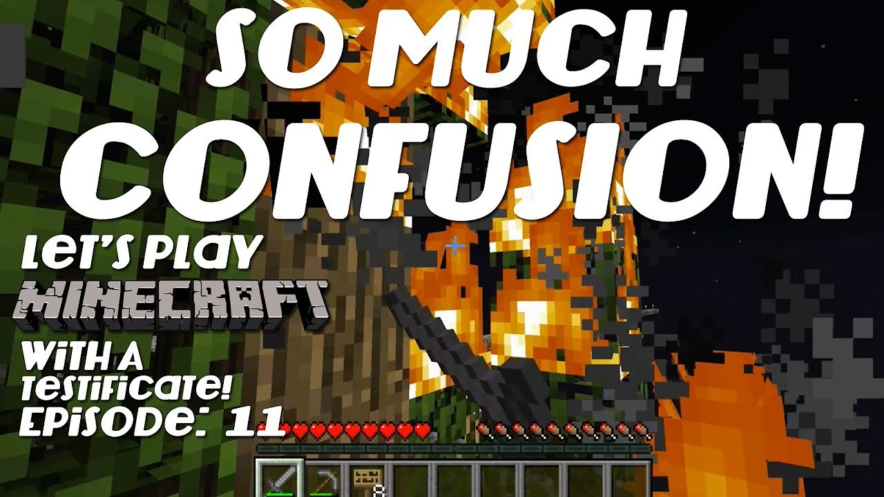 Video poster Let's Play Minecraft With A Testificate Epsiode: 11