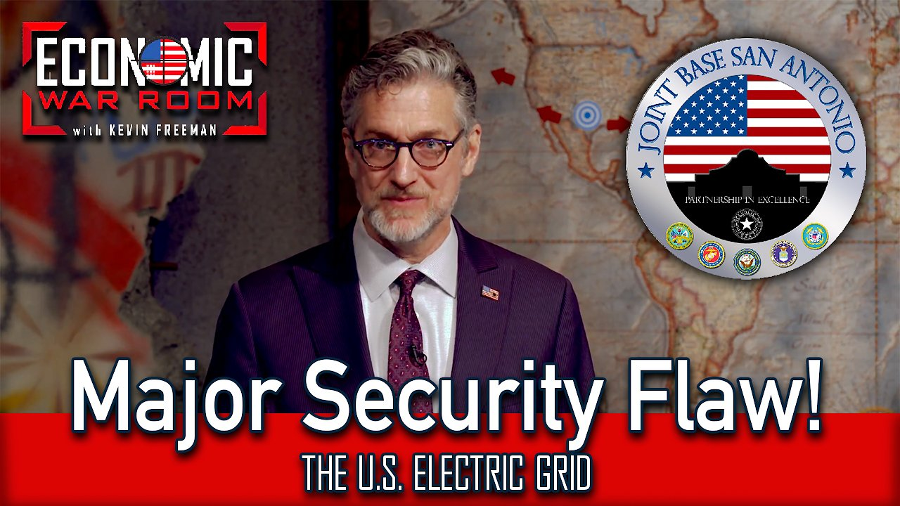 Video poster The U.S. Electric Grid's Major Security Flaw EP22