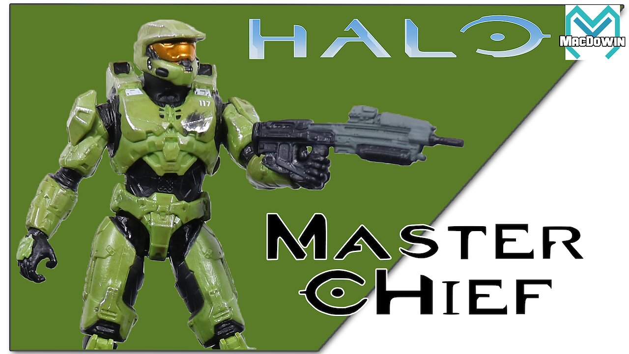 Video poster *NEW* MASTER CHIEF 2020 | 3.75 Inch Action Figure Review | Halo from Jazwares
