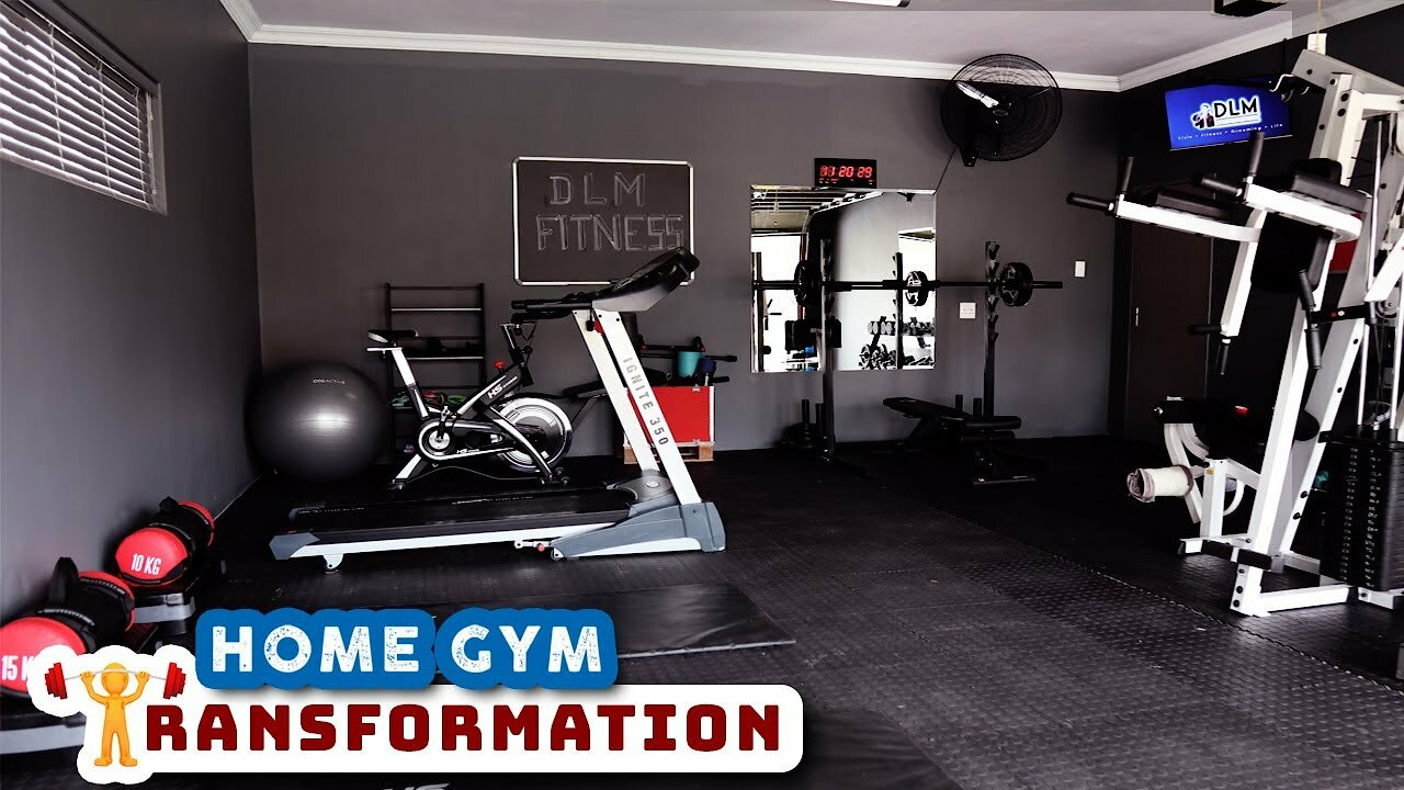 Video poster EXTREME HOME GYM TRANSFORMATION || This is how you build a home gym