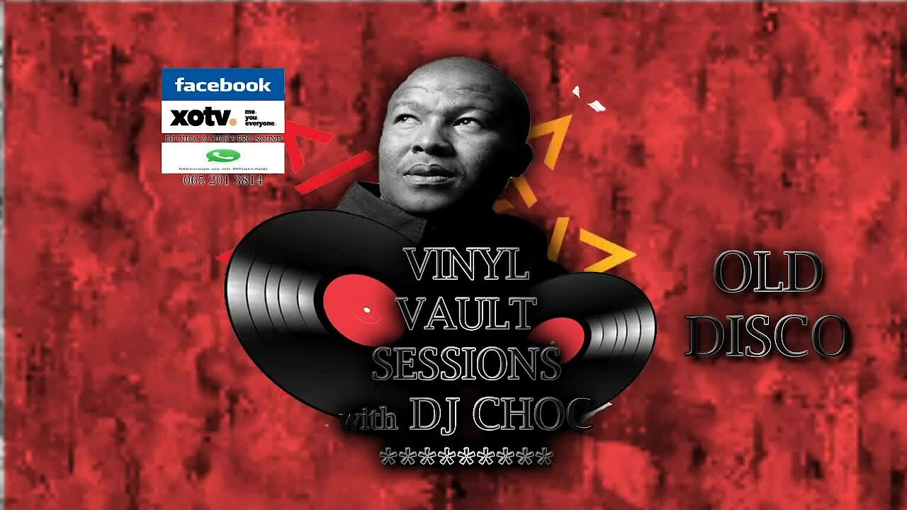 Video poster Vinyl Vault with DJ Choc 80's Disco on Vinyl