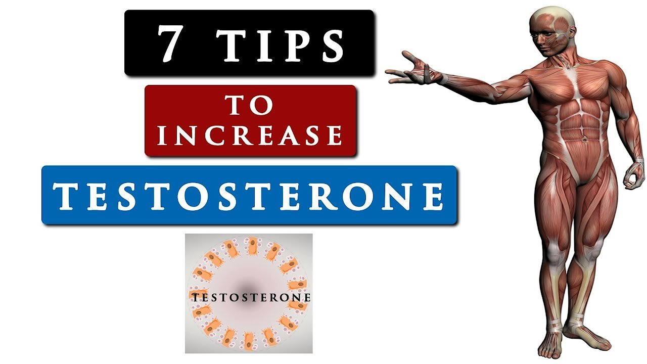Video poster How to INCREASE your TESTOSTERONE level naturally