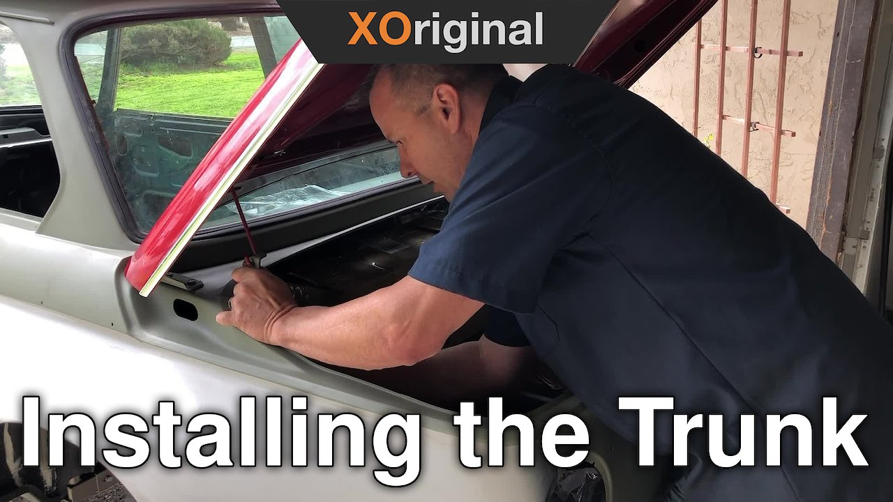 Video poster Installing and Adjusting the Trunk on a BMW 2002
