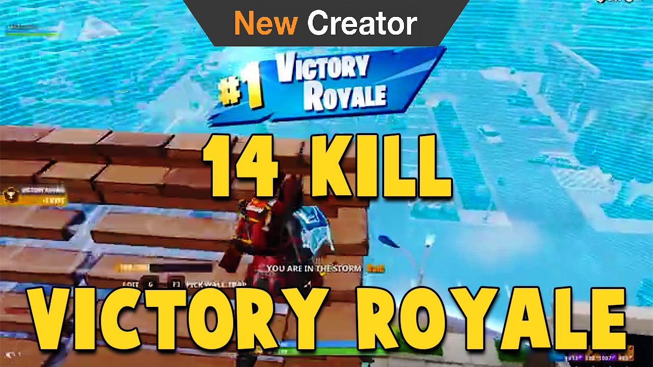 Video poster Only The Beginning! Fortnite Battle Royale Arena Solo's Division 6 14 Kill Victory Royale
