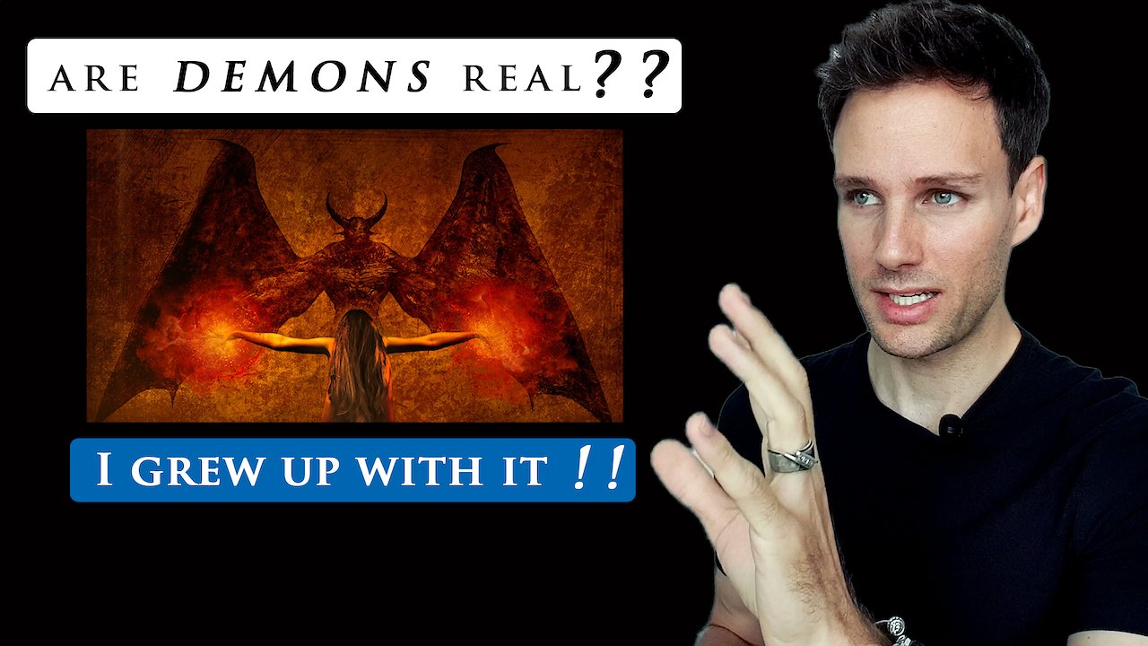Video poster ARE DEMONS REAL | My story of real DEMON POSSESSIONS & EXORCISM