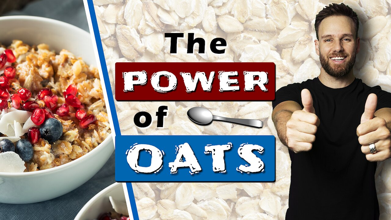 Video poster 5 REASONS why MEN should EAT more OATMEAL