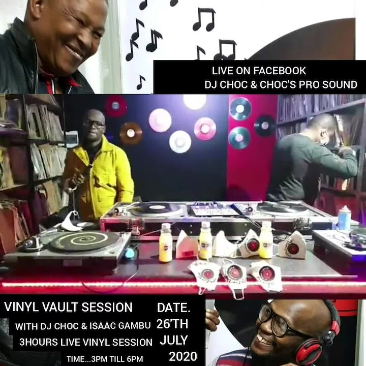 Video poster DJ Chocs Vinyls from the Vault #VVS Vinyl Vault Sessions Promo Video