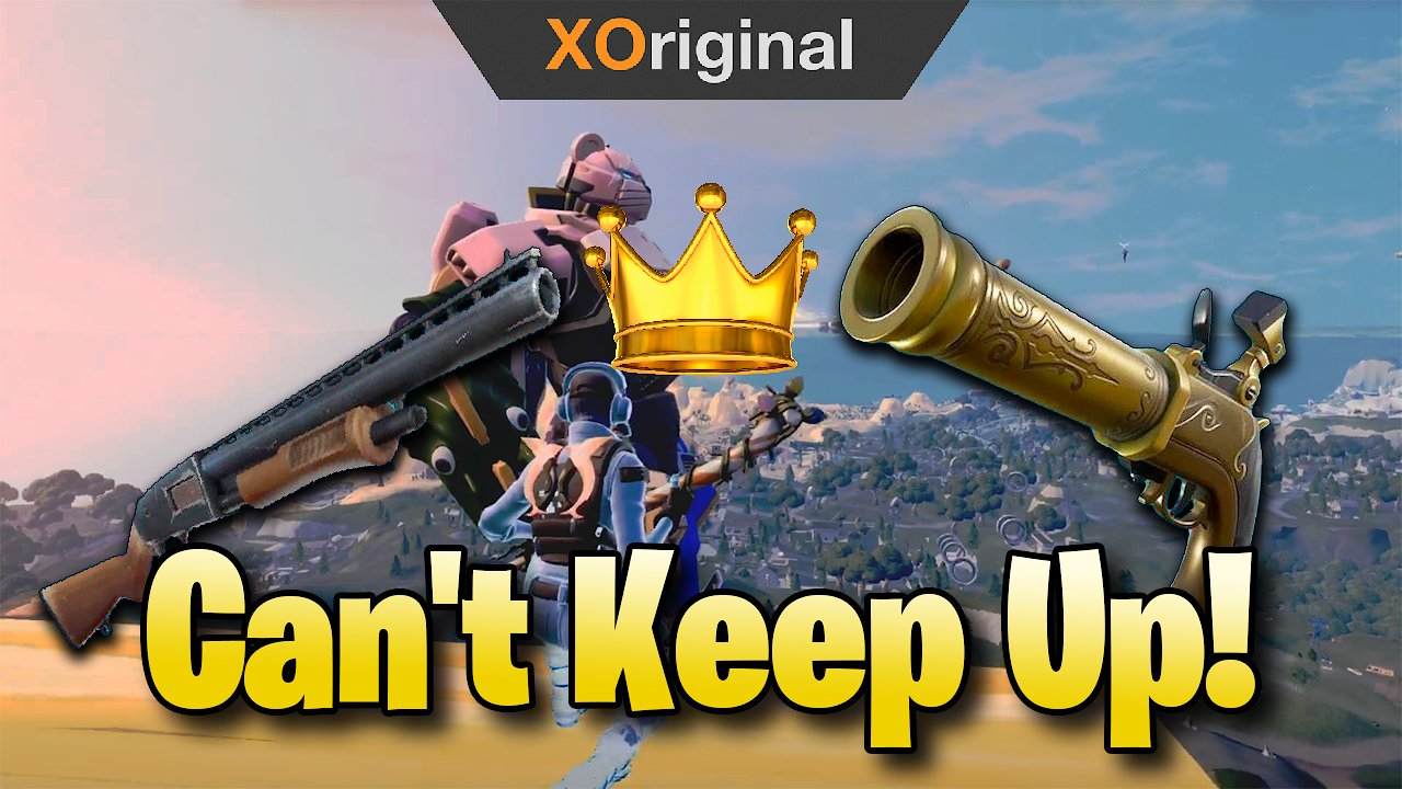 Video poster They Can't Keep Up Against Me! (Fortnite:Battle Royale)
