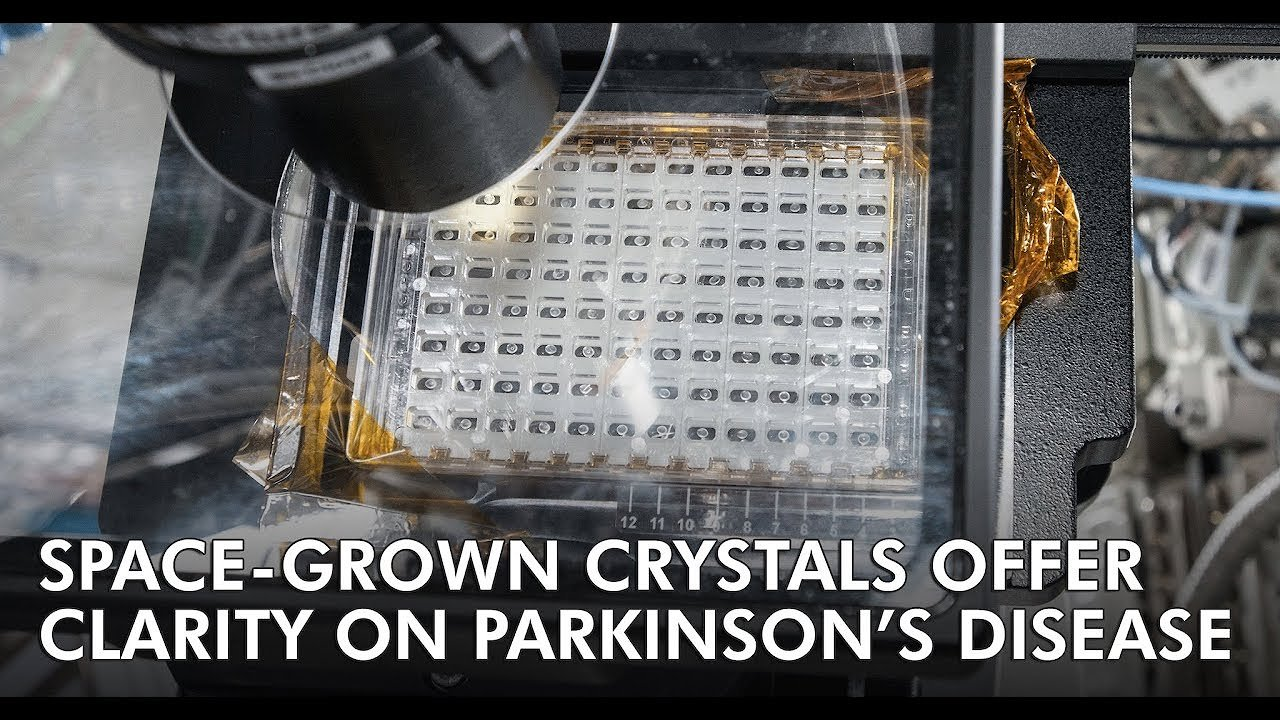 Video poster Space Grown Crystals Offer Clarity on Parkinson's Disease UHD