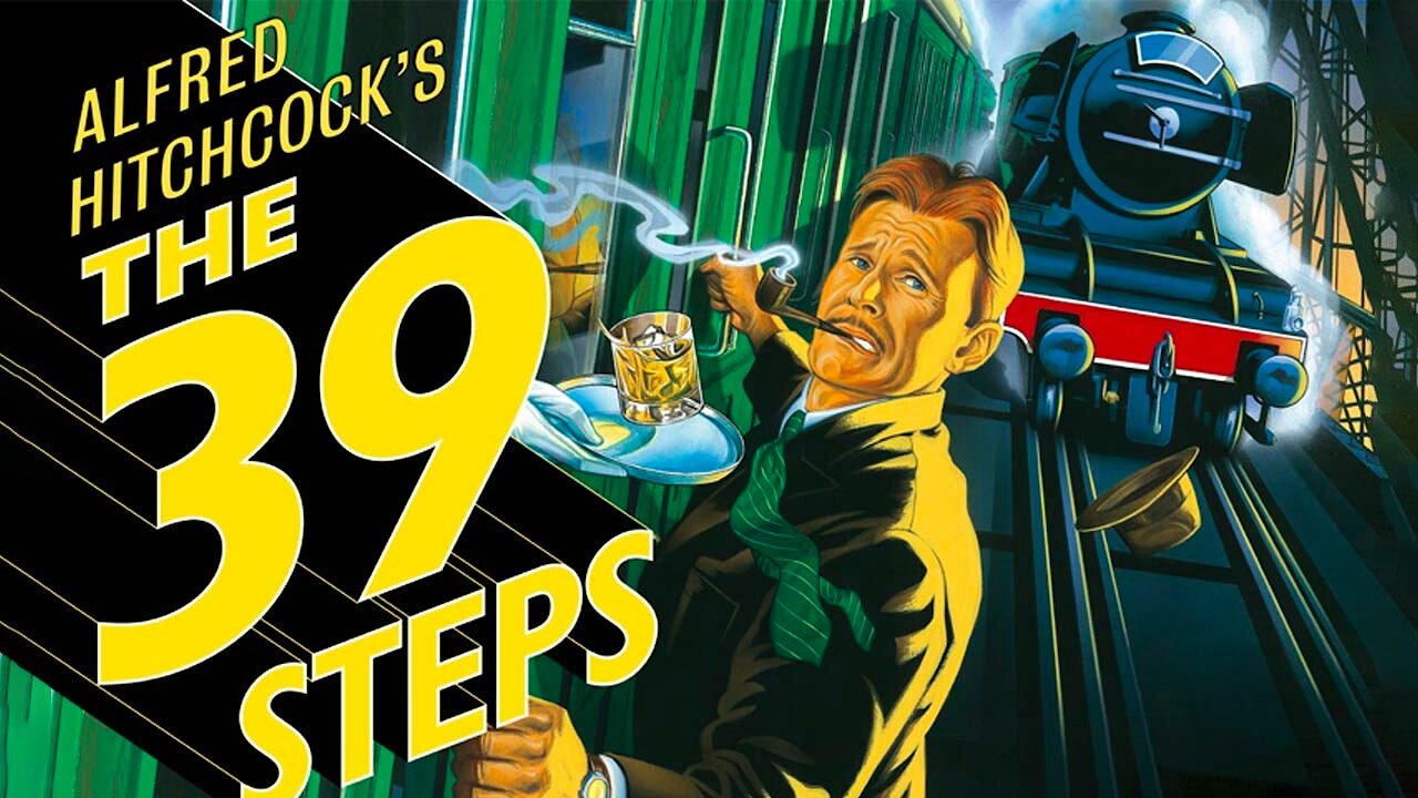 Video poster Alfred Hitchcock: The 39 Steps