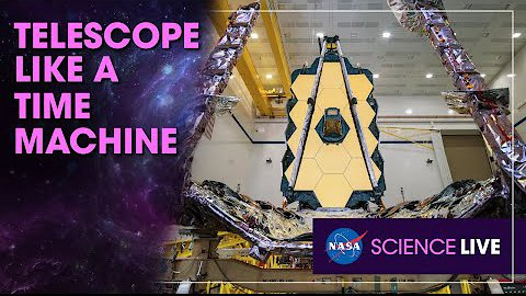 Video poster NASA Science Live: A Telescope Like a Time Machine
