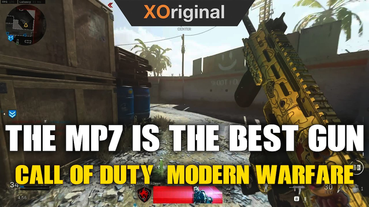 Video poster The MP7 is the Best Gun!! (Call Of Duty: Modern Warfare)