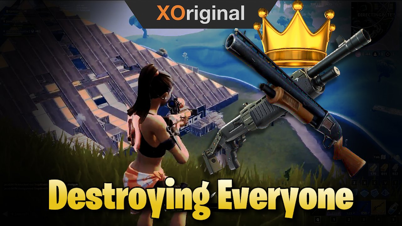 Video poster Straight Destroying Everyone With Friends (Fortnite: Battle Royale)