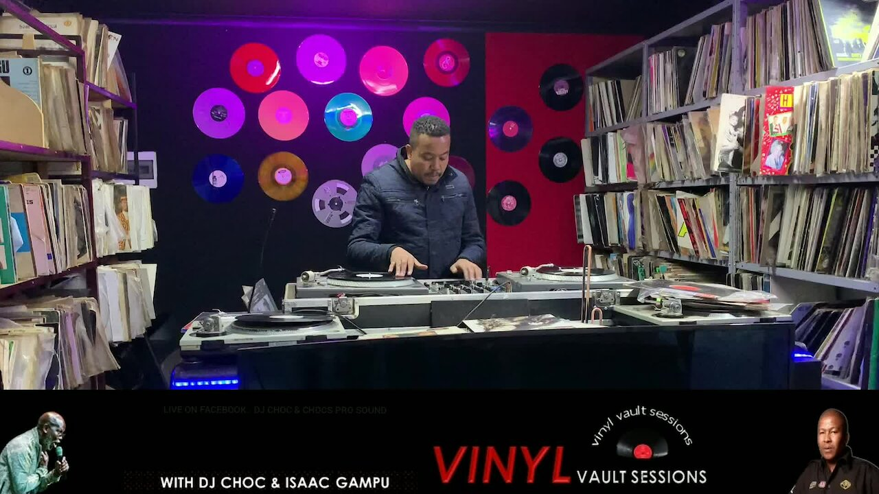 Video poster History Of Hip Hop on Vinyl with DJ ZanD in the Vinyl Vaults