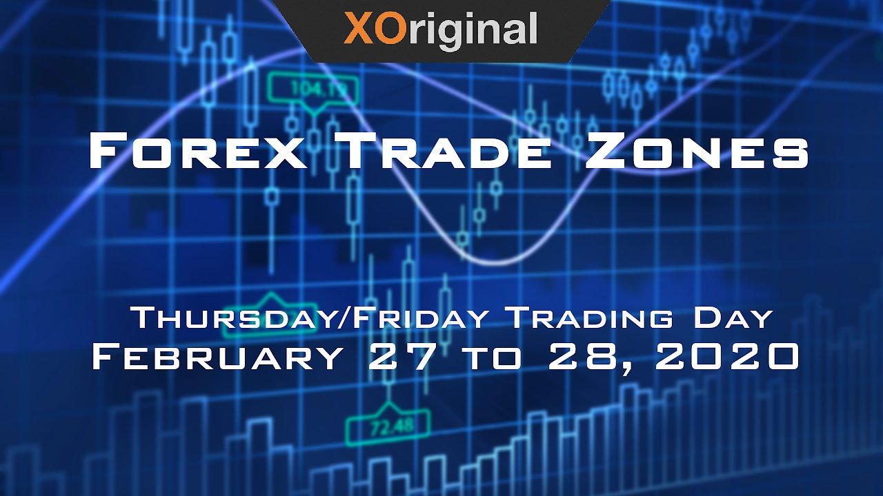 Video poster Forex Trade Zones for February 27 to 28,  2020