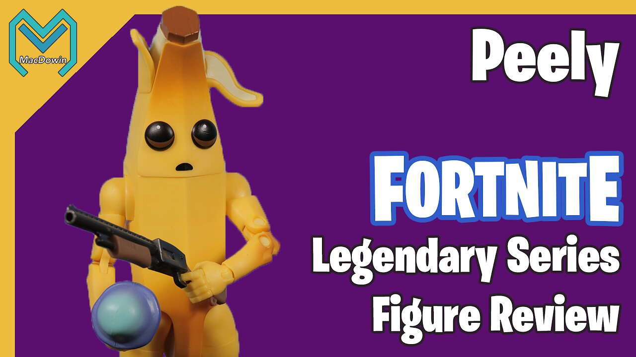 Video poster *PEELY LEGENDARY SERIES 2019* | 6 Inch Action Figure Review | Jazwares Fortnite
