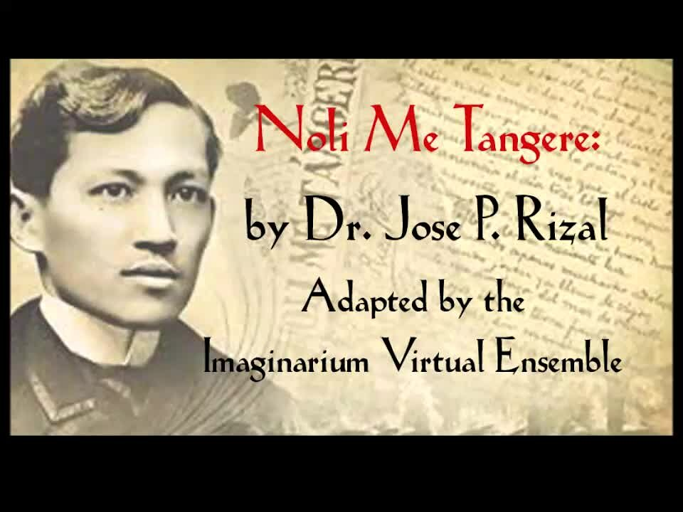 "Video poster Noli Me Tangere: The Radio Drama: Part 1 of Episode 5 "" The Boat RIde and the Picnic"""