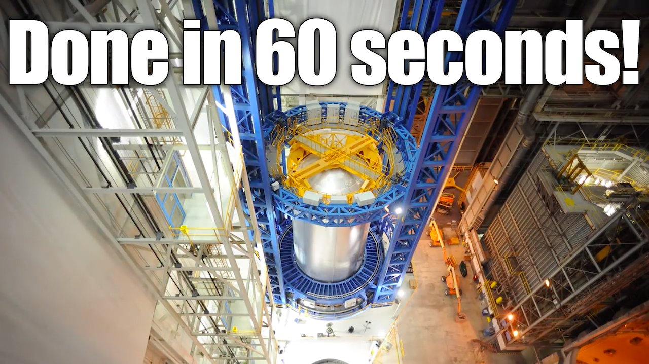 Video poster Done in 60 seconds: See a Massive Rocket Fuel Tank Built in A Minute