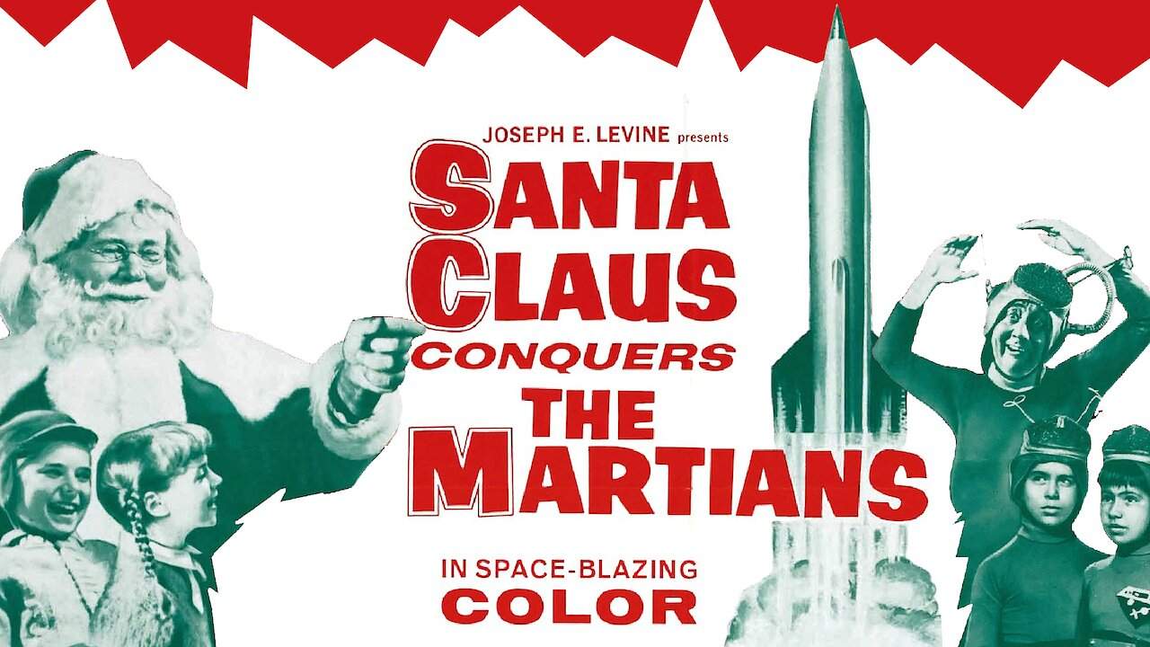 Video poster Santa Claus Conquers the Martians (1964)