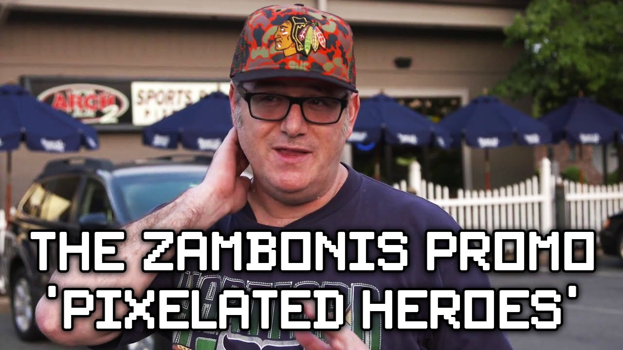 "Video poster The Zambonis Promo for NHL 94 Documentary ""Pixelated Heroes"""
