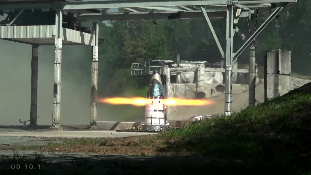 Video poster Orion's Launch Abort System Attitude Control Motor Test