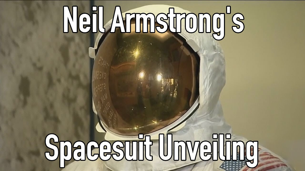 Video poster Neil Armstrong's Apollo 11 Spacesuit Unveiling