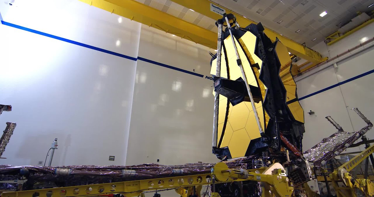 Video poster Landmark Achieved as NASA's Webb Telescope Comes Together