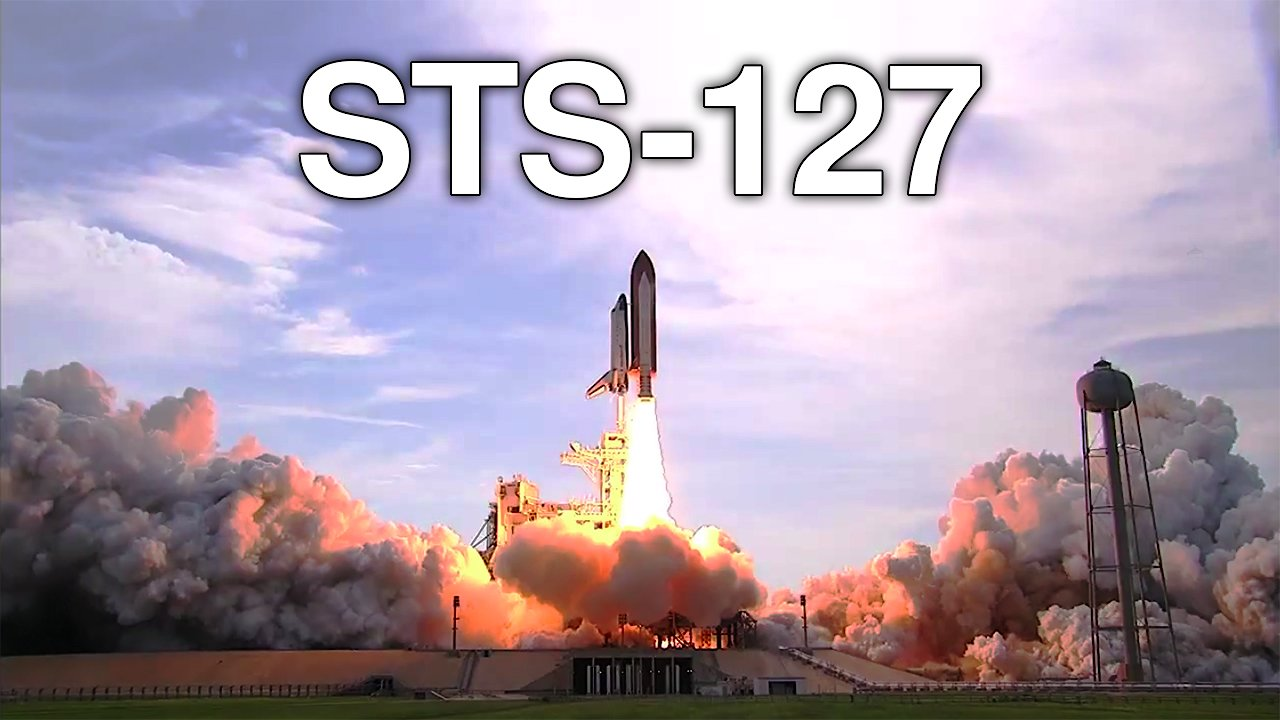 Video poster Space Shuttle STS-127 Mission