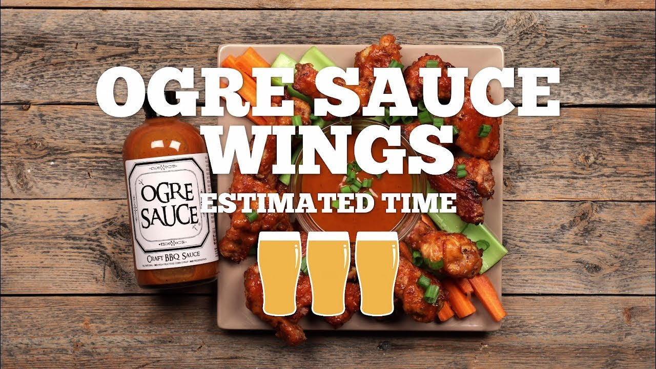 Video poster Ogre Sauce Chicken Wings Recipe - Episode 7