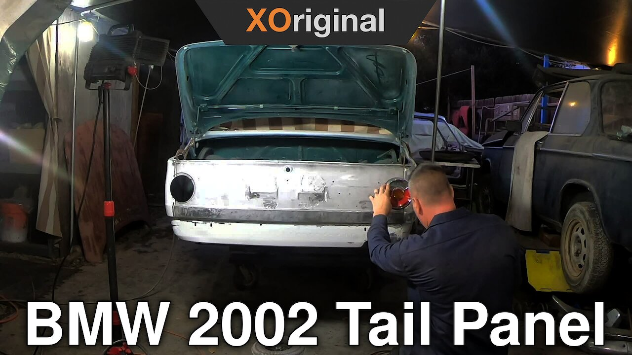 Video poster Prepping and fitting a BMW 2002 tail panel