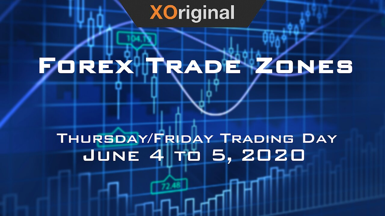 Video poster Forex Trade Zones for June 4 to 5,  2020