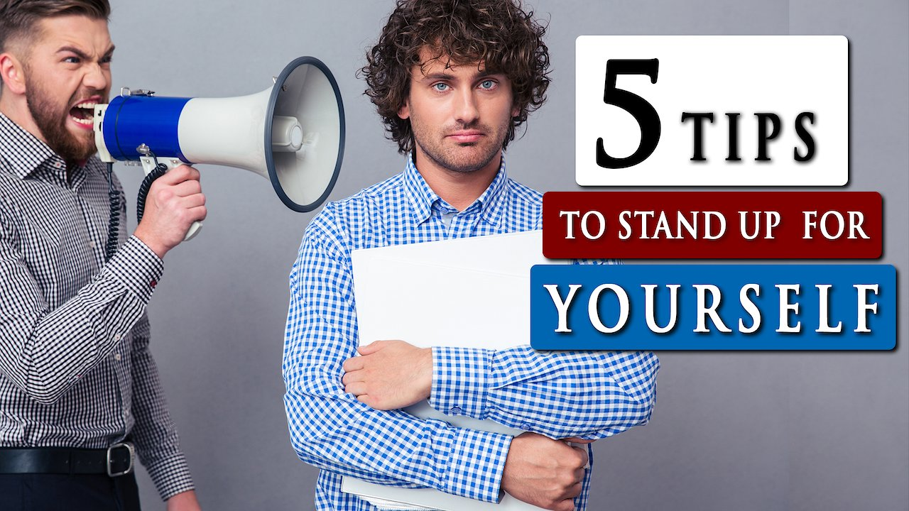 Video poster How to STAND UP for YOURSELF without being rude